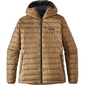 """Patagonia M's Down Sweater Hoody Mojave Khaki"""